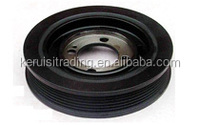 Auto diesel engine Damping pulley for mitsubishi engines 3l2 for auto parts