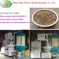 Full automatic pellet machine used for recycle wood waste
