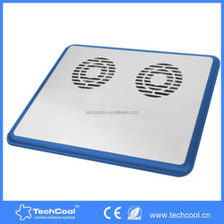 high quality aluminum laptop cooling pad with factory price