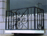modern wrought iron fence, decorative fence panels, steel safety fence yellow