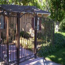 fence ornaments,fence metal, iron fence designs
