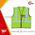 High Visibility led safety vest With Pocket And Zipper KF-002A