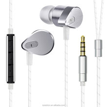 Waterproof Earbuds for Smartphones High Quality In Ear Stereo Earbuds for Mobile Wired Earphone with Mic Heavy Bass Earpiece