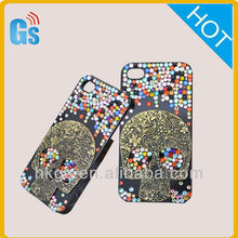 Hot! 2014 fashion mobile rhinestone phone case for iphone5
