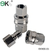 self-locking hydraulic quick release couplings