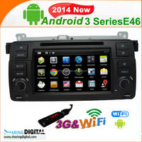 Android 4.2.2OS 2 din autoradio DVD Player with RDS system for android car radio gps E46