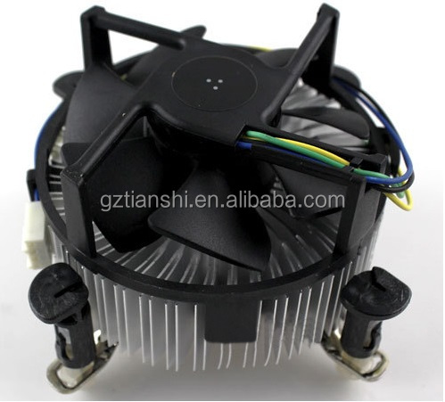 Cheapest Aluminum CPU Cooling Fan For Desktop wholesale computer CPU cooler fan
