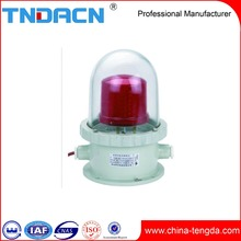 explosion proof type variety of colors flashing aircraft warning light aviation obstruction light