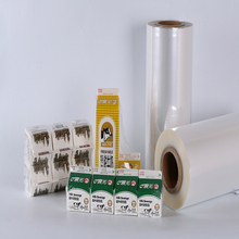 A4 Size clear heat shrink plastic PET film for inkjet printing