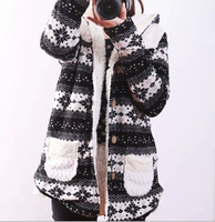 EY0039C 2015 New Desgin Women Pure cotton snow thickening hooded jacket coat