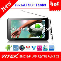 Hot Android wifi Dual core 7inch mini tablet pc with gps wifi tv