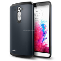 Shock-proof TPU+PC Armor Phone Cover For LG G3