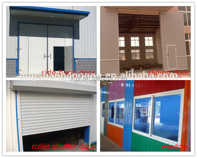 Professional Design Light Steel Prefabricated Sheds For Australia