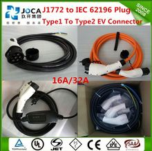 level 2 chargers 220V eu electric car charger evse zencar Adjustable j1772 evse