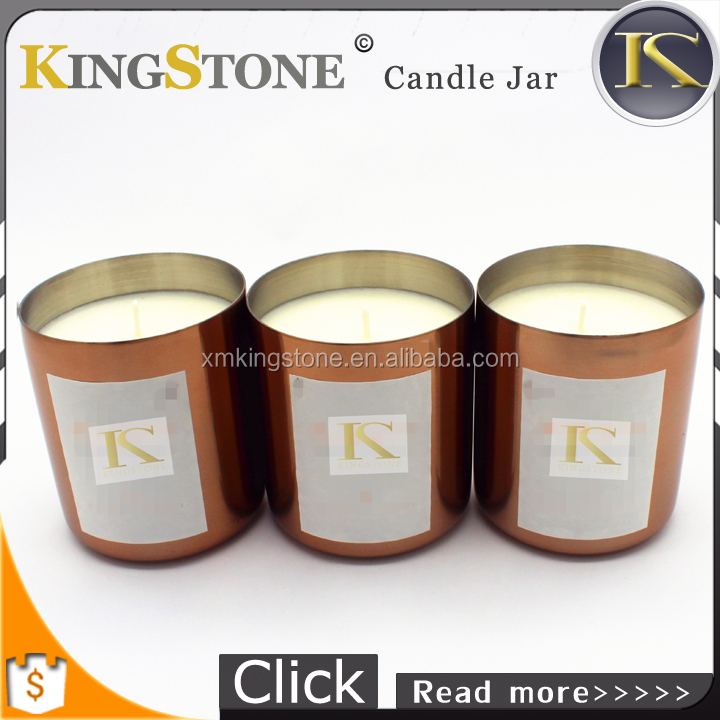 Best Selling Copper Candle Jar/Copper Candle containers/christmas candle jars