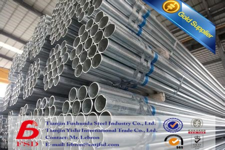China Manufacturer Hot Sale 3 Inch Galvanised Steel Tube