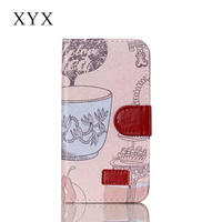 flip wallet case for samsung galaxy j7 with color painting pu leather material,cell phone flip wallet case for samsung galaxy j7