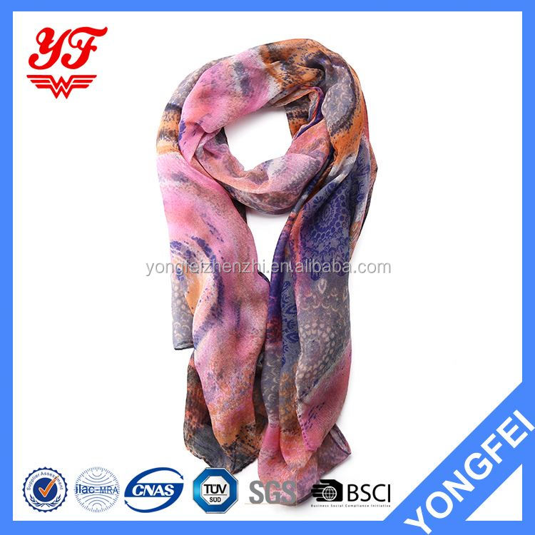 New Arrival OEM quality sex arab ms.knitted scarf with many colors