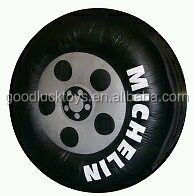 GIANT 5m ADVERTISING INFLATABLE HELIUM tyre WITH YOUR LOGO