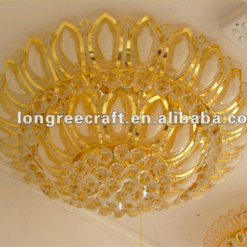 Best Price Modern Luxury Crystal Lotus Light For Hotel