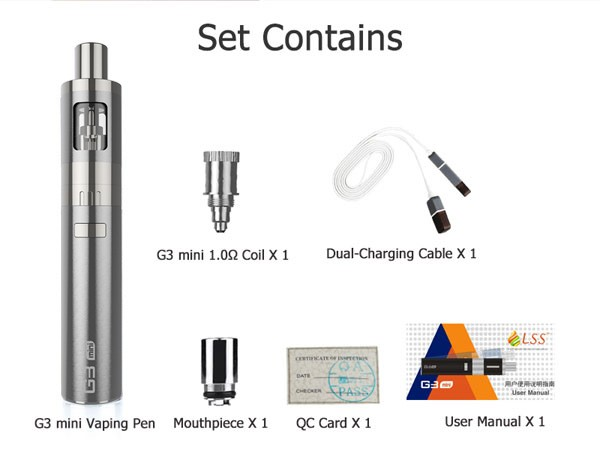 GreenSound NEW Vape Kit small Vapor Wholesale LSS G3 mini G3 kit