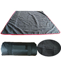 Heavy Anti-Slip Quilting Fleece Outdoor Windproof Waterproof Picnic Blanket For Camping, Beach, and Stadium