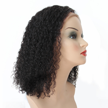 High Density Big Stock Pre-Plucked 100% Human Hair Full Lace Wig With Baby Hair For Black Women