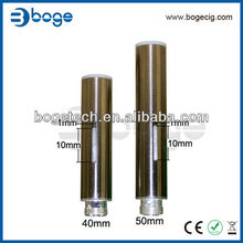 Boge tankomizer e cigarette huge vapor cartomizer replacements with prepunched dual holes or single hole,slotted @14-2