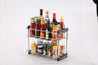 seasoning rack with plastic tray