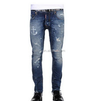 Contemporary latest new model dark blue men jeans