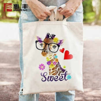 China Supplier Wholesale Canvas Tote Shopping Bag , Cotton Canvas Bag