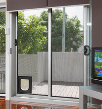Top Quality patio pet door, cat and dog glass door