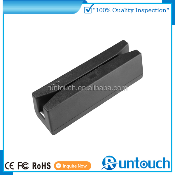 Runtouch RT-M135 subsize contactless magnetic stripe reader with USB Interface