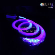 6W RGB Mixing Color 12V fiber optic twinkle star ceiling light kit