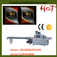 pillow type cake packing machine