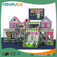 FEIYOU Toddler Soft Play CE Children Indoor Playground Mcdonalds With Indoor Playground