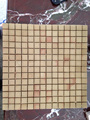 Yellow sandstone 5x5 mosaic tile wall panel