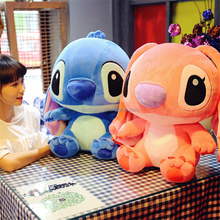 Hot Sale!Kawaii Stitch Baby Couple Doll Stuffed Plush Toys For Child