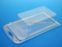 Clear PET Clamshell for Electronic packaging