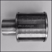 stainless steel 304 Johnson screen pipe water nozzle