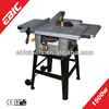 EBIC woodworking tools 1500W mini sliding table saw of sliding panel saw