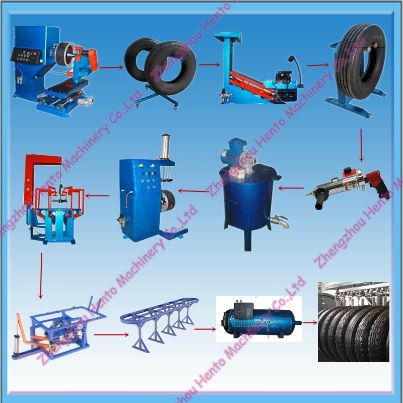 Commercial Used Tyre Retreading Machines