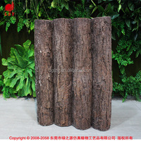 Artificial pine wood log for home decoration