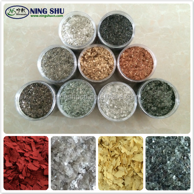 Colorful Composite/Natural Rock chips polymar flakes for granite and marble stone effect coating