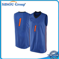 all star custom practice basketball jersey color blue