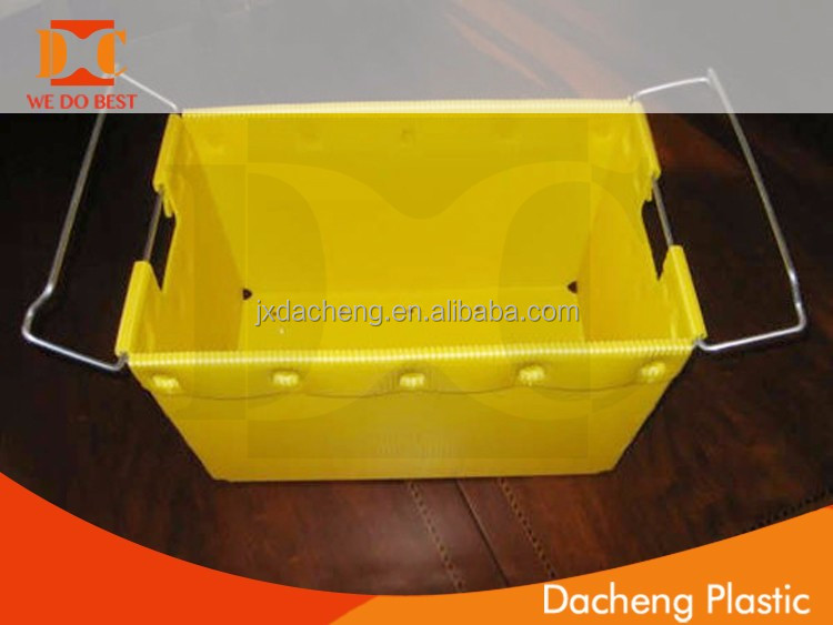 Blue Plastic packing Case / fruit carton/fruit box