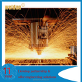 Weldon Aluminum sheet metal parts laser cutting