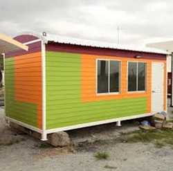 New Cost-saving Prefab wooden house portable cabins office transportable container drawing