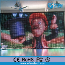 p5 to p20 soft led video flexible mesh display led curtains for stage backdrops