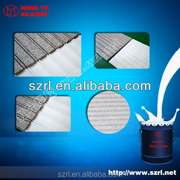 mold making silicone rubber for fack rock and artificial brick panels